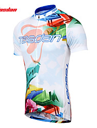 TASDAN® Cycling Jersey Men's Short Sleeve Bike Breathable / Quick Dry / Sweat-wicking Jersey / Jersey + Shorts 100% PolyesterSummer /