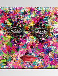 VISUAL STAR®Abstract Women Face Canvas Prints Modern Bedroom Decor Art Print Ready to Hang