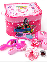 Children Of the Ultra Fine Jewelry Box Makeup Girl Play Toy  Set Simulation