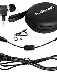 Fantaseal 3.5mm Gopro Plug Mini Stereo Microphone Mic Cable Adapter Magnet Ring Filter Circuit for GoPro Hero 4 /3+/3