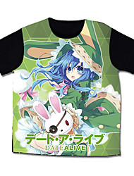 Inspired by Date A Live Cosplay Costumes  T-shirt