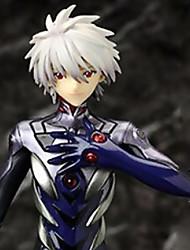Neon Genesis Evangelion Kaworu Nagisa 23CM Las figuras de acción del anime Juegos de construcción muñeca de juguete