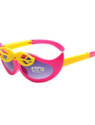 Kids Photochromic 100% UV Butterfly Full-Rim Square Sunglasses Style(Random Color)