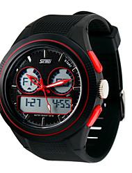 Sports Watch Men's LCD / Calendar / Chronograph / Water Resistant / Dual Time Zones / Sport Watch Digital Digital
