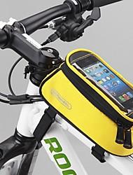 ROSWHEEL® Bolsa de Bicicleta 1.2LBolsa para Guidão de Bicicleta Á Prova-de-Água / Seca Rapidamente / Á Prova-de-Chuva Bolsa de Bicicleta