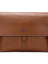 Men Bags All Seasons PU Shoulder Bag Satchel with for Shopping Casual Formal Office & Career Black Brown Khaki