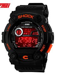 Sports Watch Men's / Ladies' / Unisex LCD / Calendar / Chronograph / Water Resistant / Dual Time Zones / Sport Watch Digital Digital