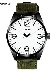 Мужской Наручные часы Кварцевый Защита от влаги сплав Группа Зеленый марка