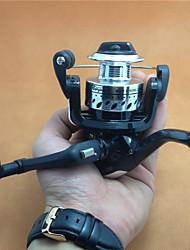 Carretes para pesca spinning / Carrete para pesca en hielo 5.2:1 4.0 Rodamientos de bolas IntercambiablePesca de baitcasting / Pesca en