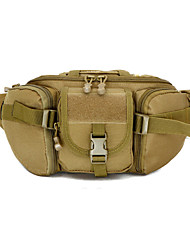 Outdoor Sport Messenger Bag Molle System Military Tactical Fanny Pack Camping Hunting Travel Hiking Handbag Waist Bag