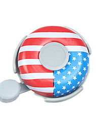 Cycling Accessories Bicycle American Flag Pattern Bells Super-clear Sound