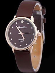 Women's Fashionable Watch Leather Band with Brick Cool Watches Unique Watches