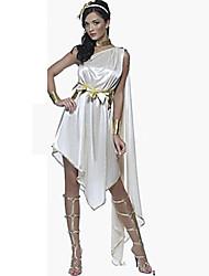 Costumes de Cosplay Costume de Soirée Conte de Fée Déesse Costumes égyptiens Fête / Célébration Déguisement d'Halloween BlancCouleur