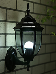 Aluminum Outdoor Light Fixture One-Light Straight Mount Exterior Wall Lantern