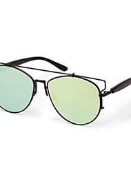 Sunglasses Men / Women / Unisex's Elegant / Retro/Vintage / Fashion Hiking Black / Silver / Gold / Pink Sunglasses Full-Rim