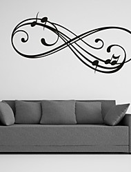 Parole e citazioni / Romanticismo / Fashion / Astratto / Fantasia Adesivi murali Adesivi aereo da parete,PVC M:42*86cm/ L:55*112cm