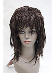 """Afro поворот косу средней длины 18 """"синтетический парик сенегал стиль Havana 3 цвета выберите e2018"""