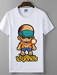 lol League of Legends monge cosplay cegos t-shirt heróis lycra algodão união