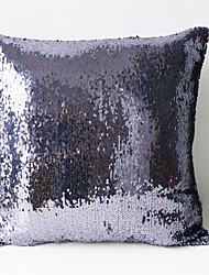 Round Sequins Densely Arranged Pillow Case / Pillow Cover , Classic,No Insert