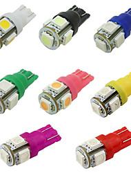 Camry Blumenkrone Golf F150 12v 2.5w 5050 5smd 8 Farben führte Autoleselampe, Auto Breite Lampe 80pcs pro Beutel