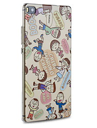 Cute Maruko Friends Hard Protective Back Cover Ultra Thin Huawei Case for Huawei P8