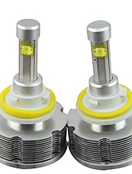 2pc 60w vios concentrer voiture camry CREE LED ampoules de phare remplacent sans la conception du ventilateur