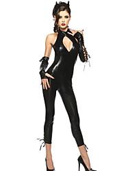 Costumi Cosplay Fantasia animale / Altri costumi Feste/vacanze Costumi Halloween Nero Tinta unita Calzamaglia/Pigiama interoCarnevale /