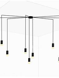 Northern Europe Creative Contracted And  Geometric Line design LED Pendant Light office,Showroom,Living Room