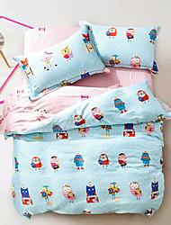 owl bedding sets super soft tencel duvet cover set queen king double size linens