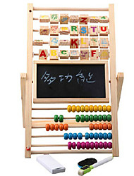 High Quality Wooden Adjustable Drawing Board With Black and White Board Available Painting Writing