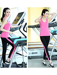 Running Tights / Pants / Bottoms Women's Compression / Stretch ChinlonYoga / Taekwondo / Fitness / Golf / Leisure Sports / Badminton /