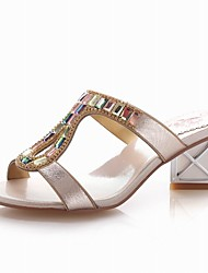 Women's Shoes  Chunky Heel Heels / Slingback / D'Orsay & Two-Piece / T-Strap / Open Toe Sandals / SlippersOutdoor /