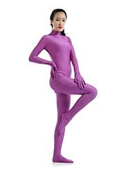 Zentai- paraUnisex-Disfraces Zentai-Licra / Spandex-Púrpura-