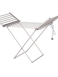 EDEANS 230 watts Aluminum Electric Heated Clothes Airer Heater Rack