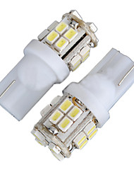 2PCS 4W T10 LED Bulbs for Cruze Car LED Width Light W5W LED Reading Light W5W Interior LED Light White Color