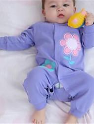 Mono Chica deAlgodón-Primavera-Azul