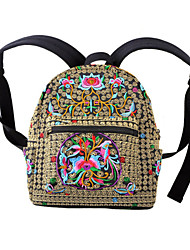 Women Canvas Weekend Bag Backpack / Sports & Leisure Bag / School Bag / Travel Bag-Multi-color