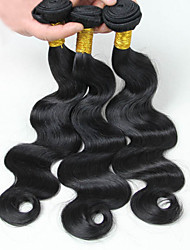12-28inch Brazilian Virgin Remy Hair Body Wave 3Pcs Lot Grade8A Natural Color Unprocessed Human Hair Extensions