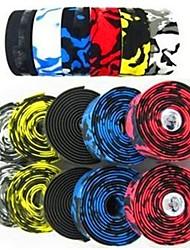 Guidoline(Rouge / Bleu / Jaune / Blanc / Noir,Synthetic) deVélo de Route / VTT / Autres / Bike Gear fixe / Cyclotourisme / Vélo tout