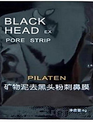 1 Máscara Secos / Molhado Liquido Controlo de Óleo / Anti-Acne / Limpeza Rosto Preta China PILATEN