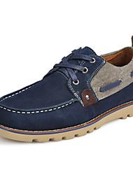 Chaussures Hommes Bureau & Travail / Décontracté Marine Daim Baskets à la Mode / Chaussures de Sport / Espadrilles