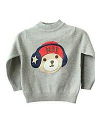 Girl's Sweater & Cardigan,Cotton Winter Gray