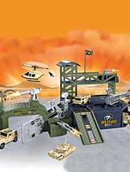 construction automobile militaire marque de parcs de stationnement des blocs de construction jouets pour les garçons de 2016 nouveaux