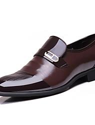 Men's Shoes Office & Career / Casual Slip-on Black / Brown