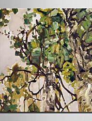 mini-peinture à l'huile de taille e-maison abstraite moderne d'une main pure de l'arbre dessiner la peinture décorative frameless
