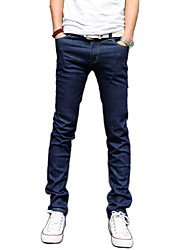 Famous Brand Summer Men's Breathable Comfortable Solid Sleeveless Pant,Cotton / Polyester Casual / Plus Sizes Jeans