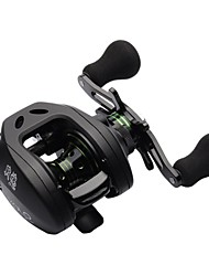 9+1 BB 6.3:1 Low Profile Baitcasting Reel Right Hand Bait Casting Fishing Reel Lightweight Water Drop Wheel