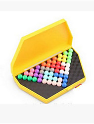 The Development of Children's Intelligence Magic Beads Pyramid Toy Box