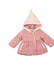 Girl's Jacket & Coat,Cotton Winter Pink / Red