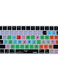 XSKN logic pro x 10.2 raccourci peau couvercle du clavier en silicone pour le clavier magique 2015 version mise en page nous